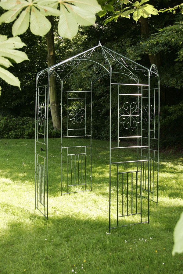 pavillon rosenbogen rankhilfe eisen pergola neu ebay. Black Bedroom Furniture Sets. Home Design Ideas