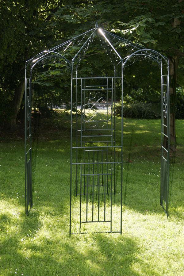 pavillon rosenbogen rankhilfe eisen pergola neu ebay. Black Bedroom Furniture Sets. Home Design Ideas